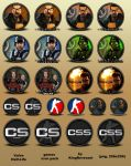 Half-Life 1 series icon pack by KingReverant