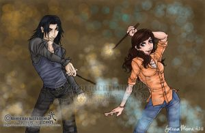 .:Dueling.Duo:. by Hatter2theHare