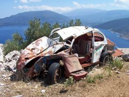 Dead Car by Korpsus by World-Club