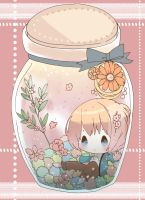 Armin in the bottle by Miza3