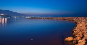 Platamonas by Night by metju91