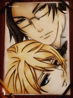 Alois and Claude by DoreiShounen