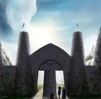 The Gates of Gondolin part II by danthalion