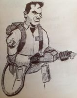 Ghostbusters Doodle by gordonholmes