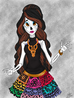 Skelita Calaveras by Fire-TheZone