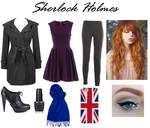 BBC Sherlock Holmes Insipred Outfit by RockerChic21