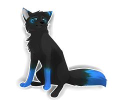 Darqen sticker commission by Whimsy11