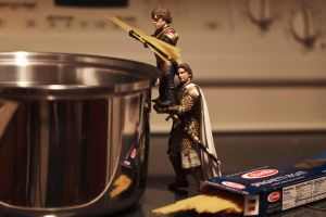 Tyrion and Jaime make Spaghetti by Ya-u