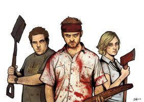 SHAUN OF THE DEAD LAYER 1 by mister-bones