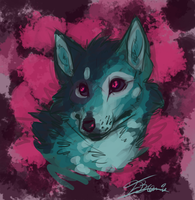 Doodle:.BlueDog by Remarin