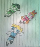 Power Puff Girls by IfIWasYour