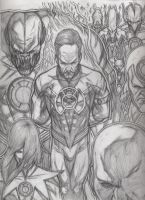sinestro corp finished by swordsmith86