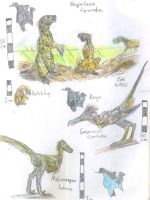 Great Plains Dinos by Velociraptor-King