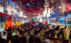 Super Crowded Chinatown by archlover
