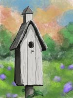 Bird House by LongHomeFox
