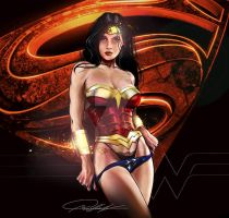 Wonder Woman by wmccullough1