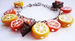 Citrus bracelet by FrozenNote