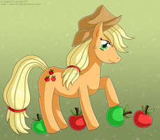 Applejack :c: by izka197