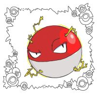 Ornate Pokemon: Voltorb by StacheRabbit