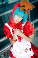 RedHood Miku Hatune (Official) by SayuriCosplays