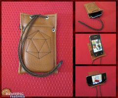 The Philosopher's Phone Case by RawringPlushies