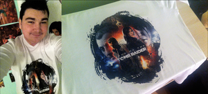 My Rise of the Tomb Raider T-shirt by FearEffectInferno