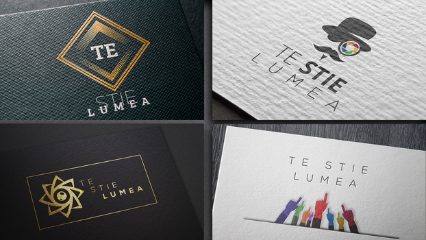 10 logo ideas for one PR agency People know you by Andrei-Petrache