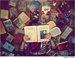 People and Books by GirlYouLostToCocaine
