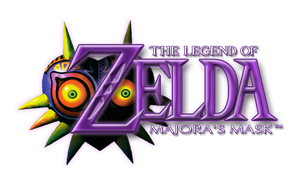 The Legend Of Zelda Majora's Mask Recreated Logo by S3NTRYdesigns
