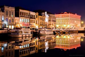 Aveiro by Night by tiagojsilva