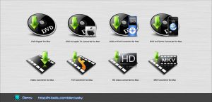 Video Converter for Mac Icon by GentryMen