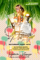 the patron party flyer by DeityDesignz