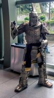 Sakura con Dwemer armor by Mackingster