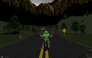 Doom - A drive through rural Highlands by HankbackfromHell