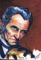 Peter Cushing Dr. Frankenstein by NickMockoviak