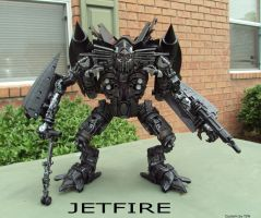 ROTF Jetfire custom painted by Unicron9