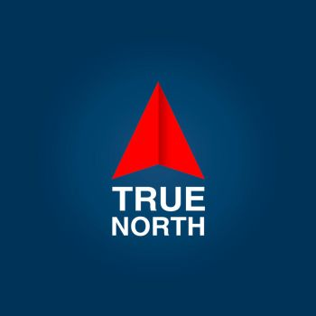 True North Graphic by graph-man