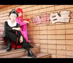 Yu Yu Hakusho: Hiei and Kurama by behindinfinity