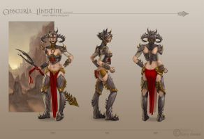 Obscuria Libertine Turnaround by skdiesel