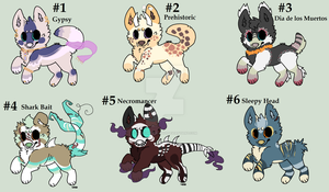 Themed canine auction CLOSED by HazeAdopts