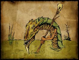 swamp dweller by alactop by Realm-of-Fantasy