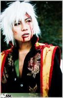Hakuouki: Bloody Okita by SoySauceCosplay