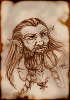 Dwarf- Sketch by E-f-e-u