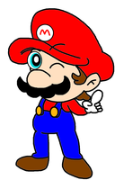 Mario point by Bomberdrawer