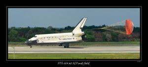 STS-124 at SLF mid-field by OpticaLLightspeed