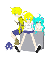 Vocaloids :3 by WishTheJirachi07