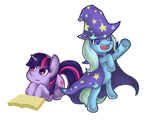 Twilight And Trixie by LeeeHeeey