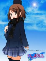 K-ON:exmark: - Yui Hirasawa by Simpsons-Addict