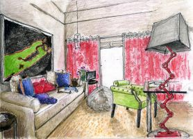 Amanda Nisbet interior 2 by hardcorish