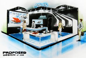 Exhibition for ASUS by shinvan